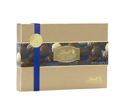 Lindt Classics Gift Box, 6.2-Ounce Packages