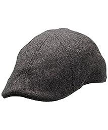 Woolrich Melton Wool Blend Duckbill Ivy, LIGHT GRAY (Gray), Size M
