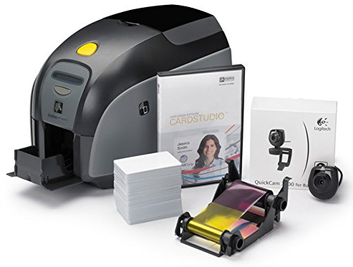 Zebra ZXP Series 3 QuikCard ID Solution Dual-Sided with Magnetic Stripe Encoding (Zebra Zxp 3 compare prices)