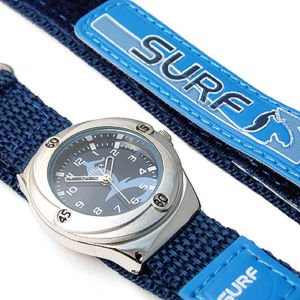 Boys/Kids Blue Reflex Surfer Watch-14-16cm Velcro Strap-23