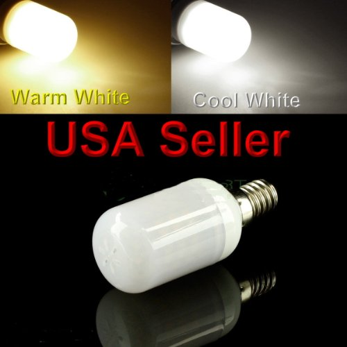 E17 Led 48 Smd Appliance Lights Bulb Lamp Ac110V-120Vac Replaces Wb36X10003 6912W1Z004B Cool White