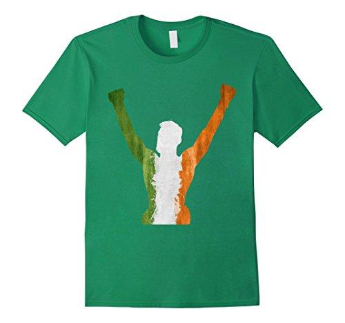 Mens-EmmaSaying-The-Champ-Shirt-Fighting-Champion-Irish-Flag-Tee-Kelly-Green