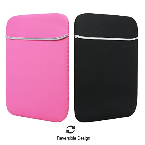 Lavievert Ultrathin Snug Fit Sleeve Soft Neoprene (Water Resistance) Laptop Notebook Bag Case Sleeve Cover for 15