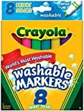 Crayola Washable Bright Markers 8 Count - 2 Packs