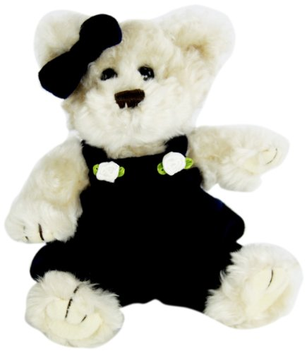 "Purr-Fection Baby Lacy Timeless Treasure Bear 6"" Plush"