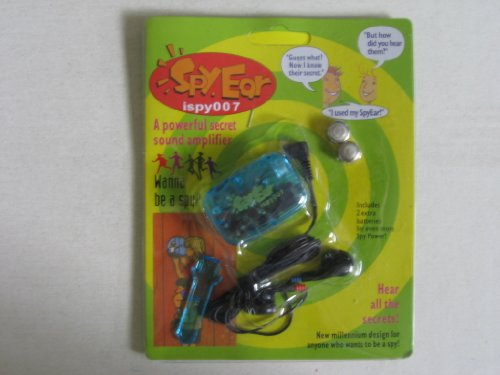 Ispy007 Spy Ear Secret Sound Amplifier