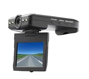 The Sharper Image KT98 Black Dash Cam