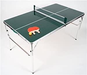 The Original MASTER PONG MINIATURE SIZED Portable Lightweight Aluminum Folding Ping... by World Outdoor Products