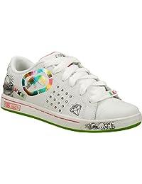 Unltd By Marc Ecko Gramercy-inca White-multi Size 13.5 Youth/kids/girls Brand New