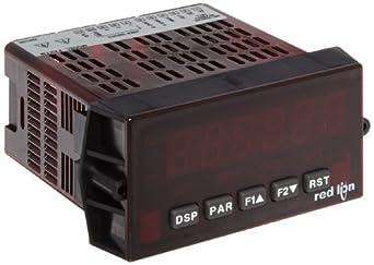Red Lion PAXTM Preset Timer Panel Meter, 6 Digit LED Display, 85-250 VAC, 50/60 Hz