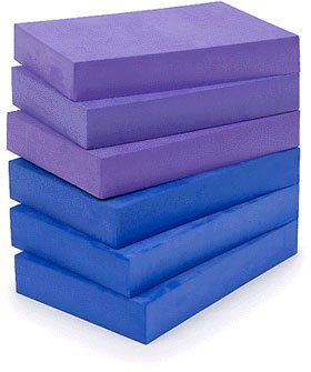 YogaAccessories (TM) 2' Foam Yoga Brick