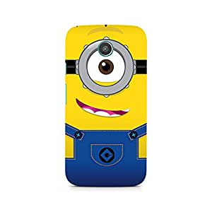 Ebby Smiley Minion Premium Printed Case For Moto E