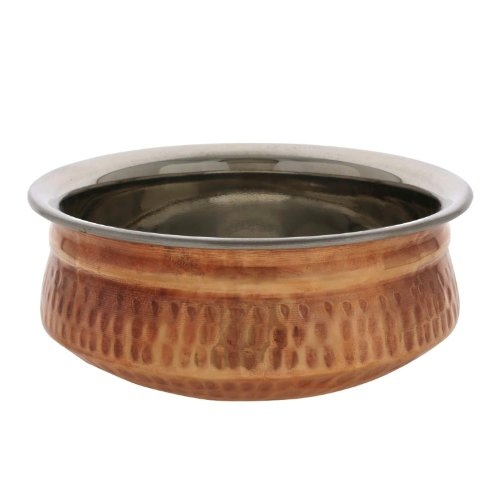 Dinnerware Indian Serving Bowl Copper Tureen 13.5 Ounce front-302329