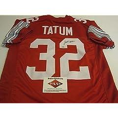 Jack Tatum Autographed Jersey - Ohio State Buckeyes Red OSU Paas Coa - Autographed...