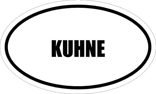 6-printed-kuhne-name-oval-euro-style-magnet-for-any-metal-surface