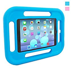 Snugg Kids iPad Air Case in Blue with Lifetime Guarantee - Shock and Drop Proof EVA case for the Apple iPad Air Case