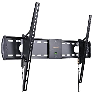 VideoSecu Mounts Low Profile Tilt TV Wall Mount for most 32 - 55 Inch Plasma LCD LED TV with VESA 200x100 to 600x400mm 3N9