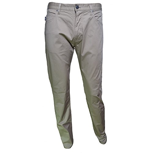 Armani Jeans Pantaloni Slim Fit UK 38 Beige