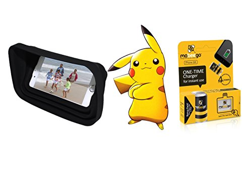 Pokemon Go Outdoor Survival Phone Kit | Sun Protector for iPhone and Battery Kit for iPhone 6 | Play All Day! (for iPhone 6)
