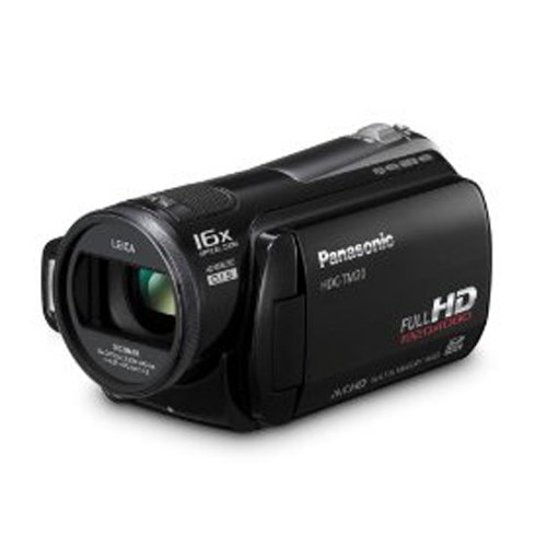Panasonic HDC-TM20K High-Def Flash Memory Camcorder with 16GB Internal Memory and 8GB Memory Card (Black)