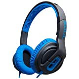 Soul Transform Superior Active Performance On-Ear Headphones (Electric Blue)