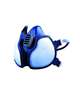 3M 4279C Demi-masque léger pour la manipulation de produits chimiques toxiques avec niveau de protection ABEK1P3 Prêt à l'emploi