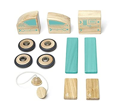 On Sale Circuit Racer Magnetic Wooden Tegu Block Set
