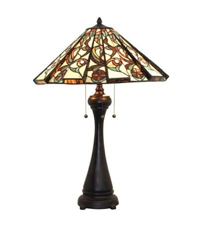 Legacy Lighting Calypso Table Lamp, Crimson Noir