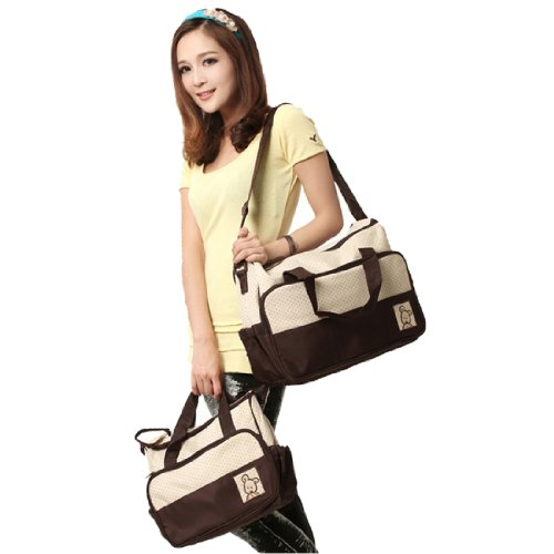 Womens Waterproof Diaper Bag,One Size,Coffee back-412097