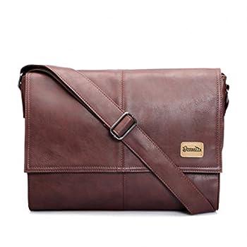 Good&god Vintage Pu Leather Men Business Briefcase Laptop Messenger Bag