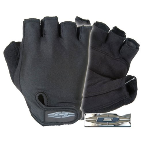Damascus DC290 Bike Patrol Gloves, Half-finger with Lycra Backs and Clarino Palms, XX-Large