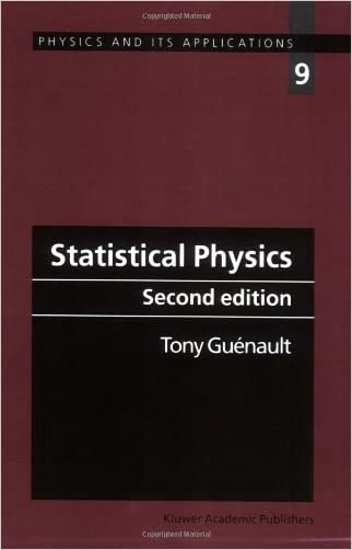 Statistical Physics (Physics and Its Applications) written by A.M. Guenault