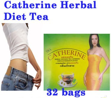 32 Teabags Catherine Slimming Herbal Weight Loss Detox