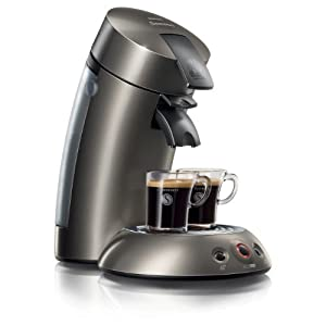 philips senseo hd7812 60 kaffeepadmaschine kaffeemaschine titanium senseo lungo. Black Bedroom Furniture Sets. Home Design Ideas