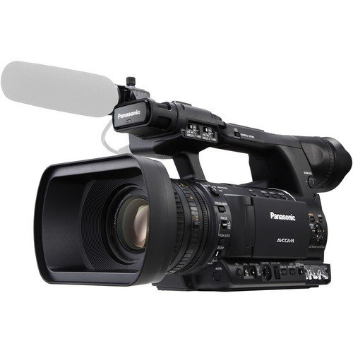 Panasonic AG-AC130 2.2MP AVCCAM HD Hand-Held Camcorder, 22x Optical Zoom, 3.45
