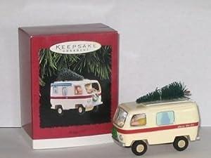 Hallmark Keepsake Merry RV 1995 Christmas Ornament