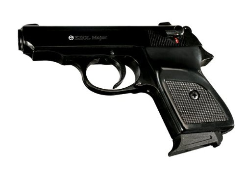 Ekol Major PPK Front Firing Replica Blank Gun, Black from Ekol