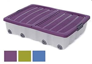 mq xxl unterbettkommode rollbox rollen unterbettbox griffe. Black Bedroom Furniture Sets. Home Design Ideas