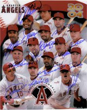 Signed Angels, Anaheim (2004) 8x10 By the 2004 Angels Team (Troy Percival, Jarrod... by Powers+Collectibles