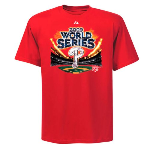 Philadelphia Phillies 2009 World Series Participant Tee at Amazon.com