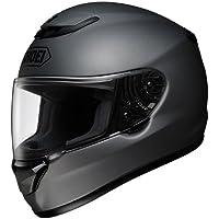 Shoei Solid Qwest Street Bike Motorcycle Helmet - Matte Deep Grey / Medium by Shoei