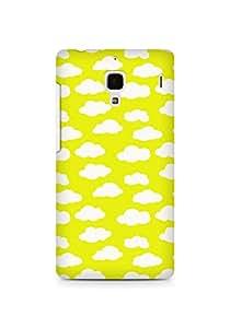 Amez designer printed 3d premium high quality back case cover for Xiaomi Redmi 1S (Cloud Pattern3)