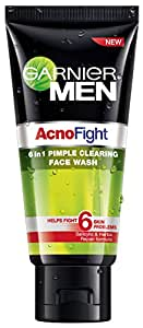 Garnier Acno Fight Face Wash for Men, 100g