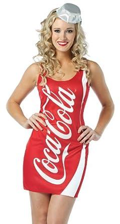 Rasta Imposta Coca-Cola Tank Dress, Red, Adult 4-10