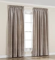 Faux Silk Thinsulate™ Pencil Pleat Curtains