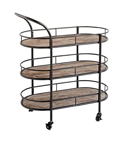 Mercana Reachalle Bar Cart, Brown
