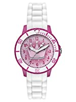 s.Oliver SO-2592-PQ - Reloj analógico para niña de silicona rosa por s.Oliver