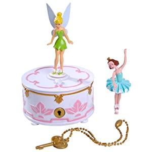 disney fairies music box