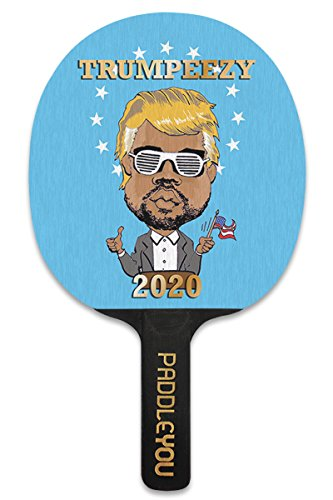 Trumpeezy Ping Pong Paddle (Game Improving Paddle)