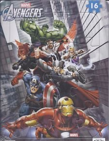 Marvel The Avengers Assemble Tray Frame 16 Piece Jigsaw Puzzle - Designs Vary